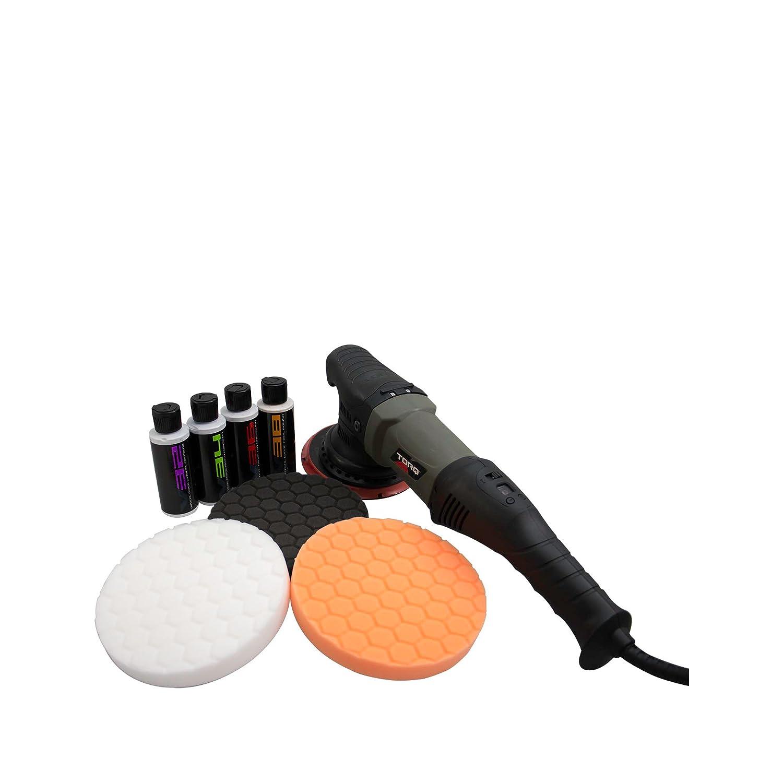 Polisher + 8 Items Torq BUF502X TORQ22D Random Orbital Polisher Kit