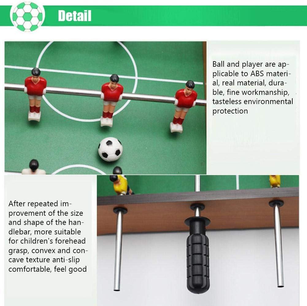 Mignon84Cook Mini Puzzle Juegos de Foosball Mesa de Madera Indoor Mesa de fútbol Juegos de fútbol Accesorios para Regalo de Fiestas: Amazon.es: Hogar