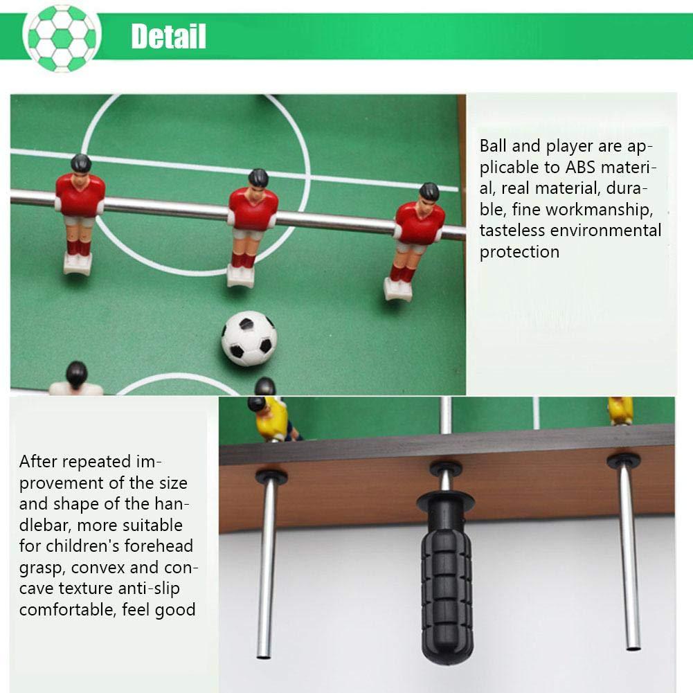 AITOCO Juego de Mesa portátil de futbolín/futbolín con balón y ...