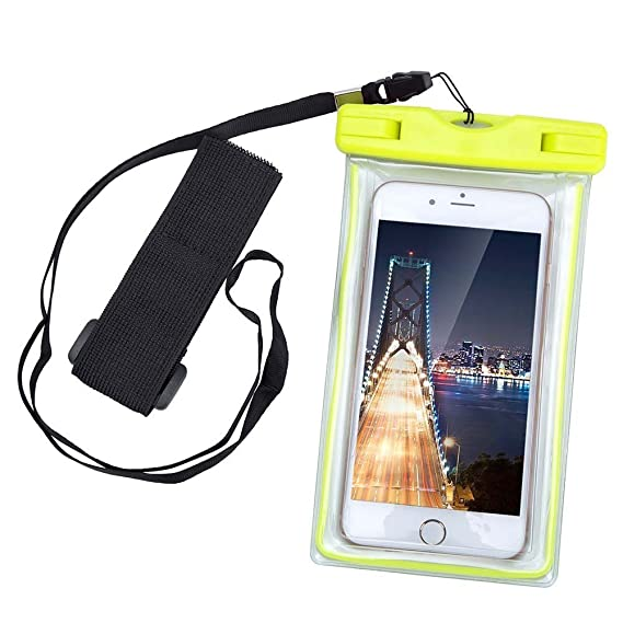 promo code 2abdb 923be KATTEONG Waterproof Case Dry Bag Cell Phone Pouch with Military Lanyard  Strap for Kayaking/Skiing/Sledding/Boating/Surfing, Best Waterproof Case  for ...