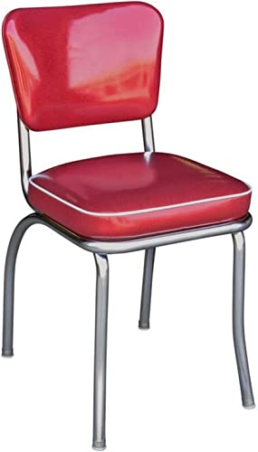 Cheap Richardson Seating Retro 1950s Diner Side Chair living room chair for sale