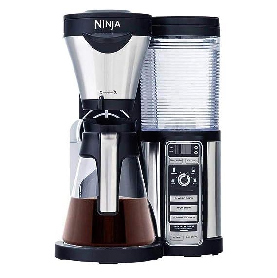 Ninja CF080 Coffee Bar Auto-iQ Brewer with Glass Carafe by ...