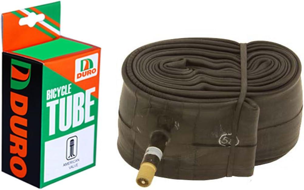 NEW DURO INNER TUBE SCHRADER//AMERICAN VALVE 26X 1.90-2.125 32mm TUBE BIKE