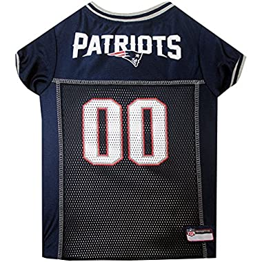 Pets First New England Patriots Mesh Jersey, XX-Large