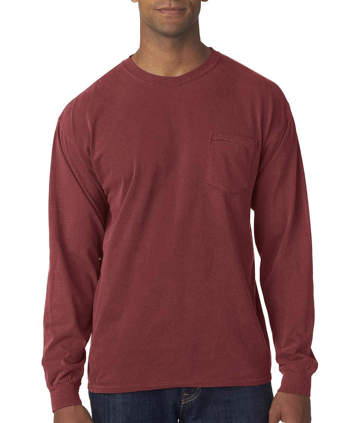 Comfort Colors BC L//S Heavyweight Pocket TEE