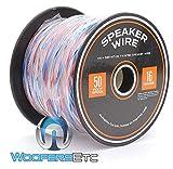 50 Foot Spool True 16 Gauge High Definition Twisted Speaker Wire