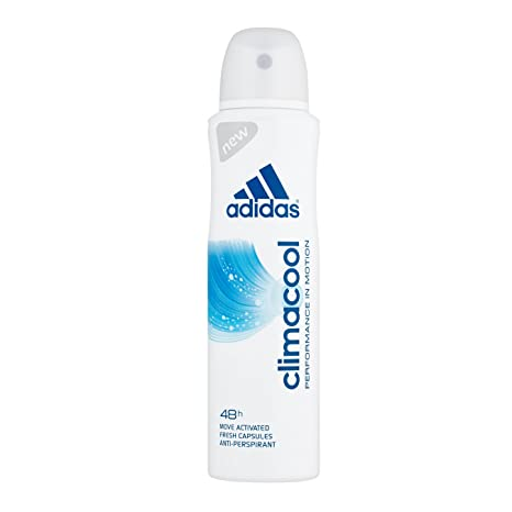 authentic quality fashion styles official supplier Adidas Climacool Anti-Perspirant Deodorant Spray for Women, 48h protection,  150ml