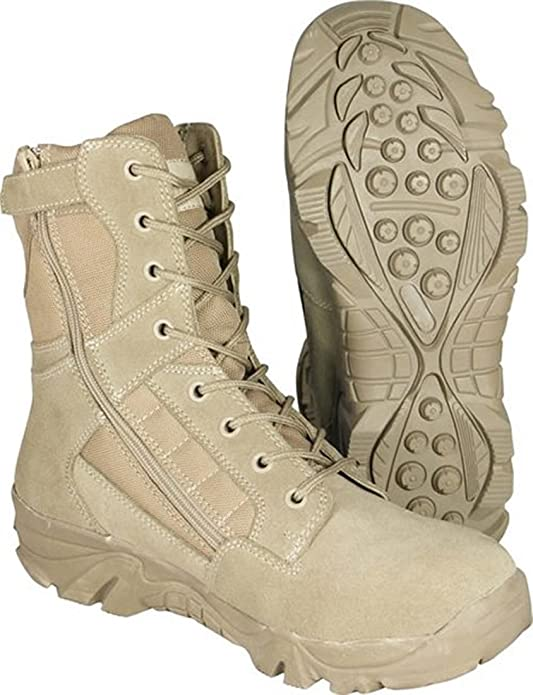 Amazon: MilCom Men's Suede Recon Airsoft Security Military Hiking Work  Tactical Boots: Clothing