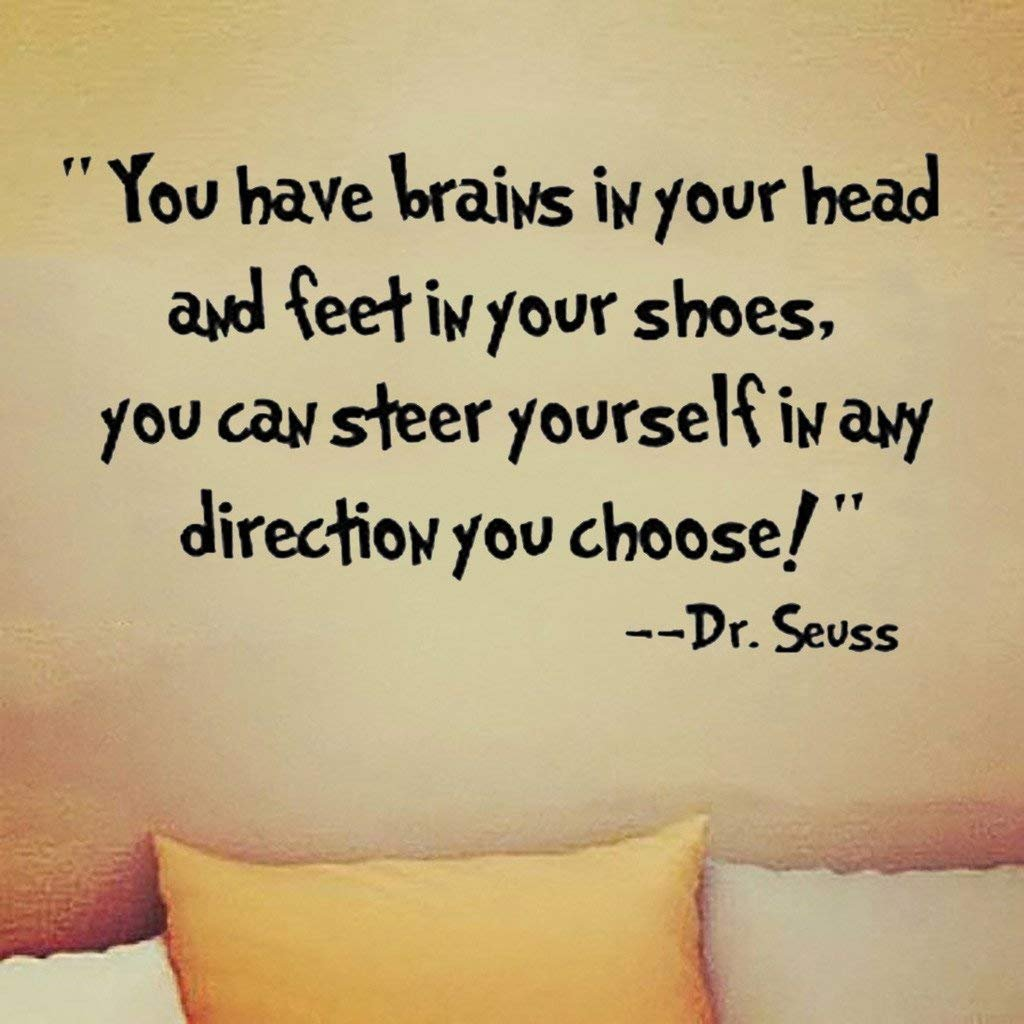 Enchanting Dr Seuss Quotes Wall Art Gallery - The Wall Art ...