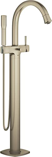 GROHE 23318ENA Grandera Floor Standing Tub Filler, Brushed Nickel InfinityFinish
