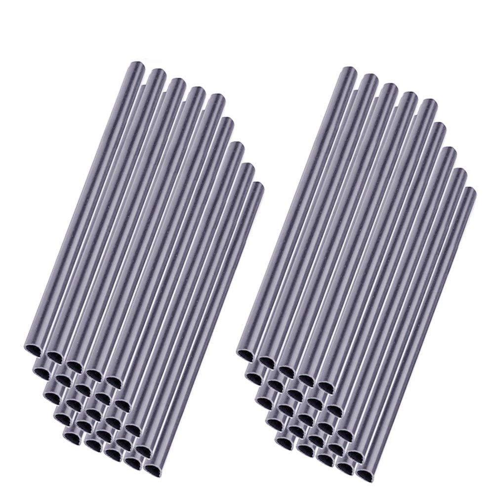 MCTECH Clip di montaggio universali Guide di bloccaggio per proteggi schermo in PVC (grigio, 30 pezzi)