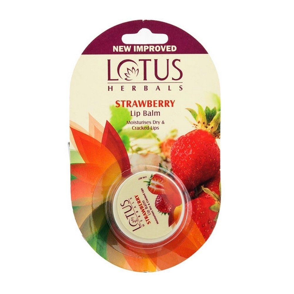 Lotus Herbals Strawberry Lip Balm