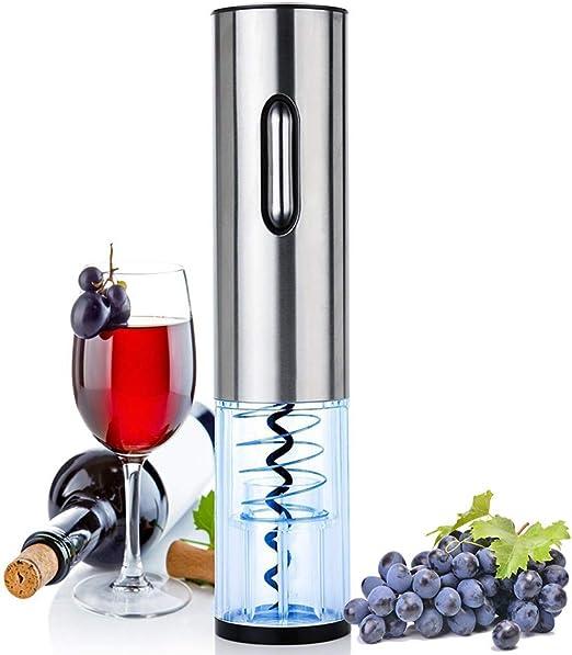 Electric Wine Opener Cordless Corkscrew Bottle Opener With Foil Cutter LED Light
