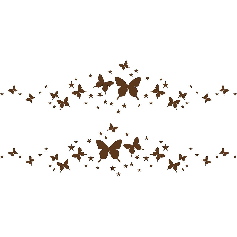 Car side fancy sparkling shiny romantic graphics butterflies stars (30 cm x 60 cm) Colour Blush Bathroom, Childs Bedroom, Children Room Stickers, Car vinyl, Windows and Wall Sticker, Wall Windows Art, Decals, Ornament Vinyl Sticker ThatVinylPlace