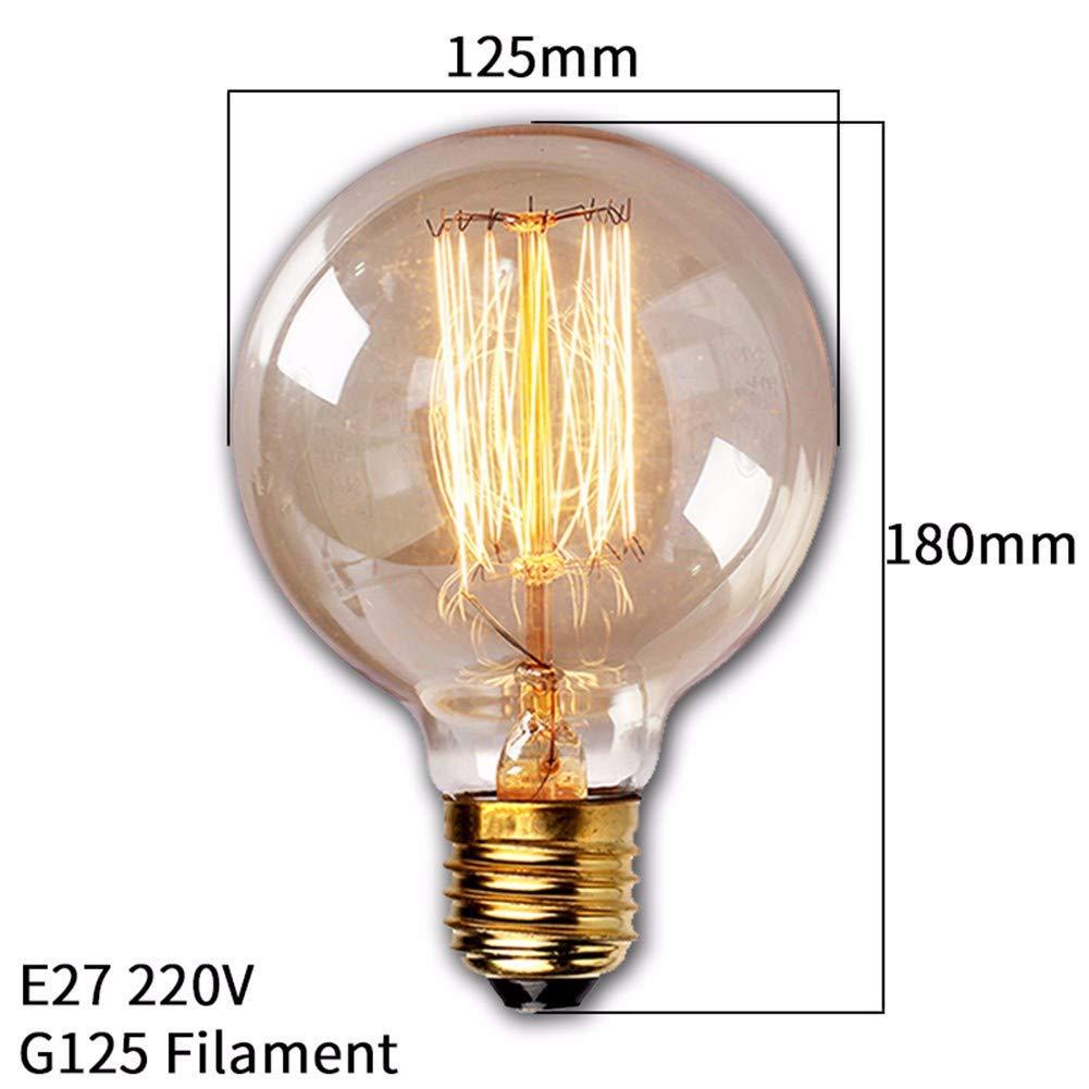 Elektroinstallation Leuchtmittel Glühbirne Dekorative Leuchtmittelretro  Vintage Edison Birne E27 40 Watt 220 V Ampulle Vintage Birne Edison Lampe  Filament ...