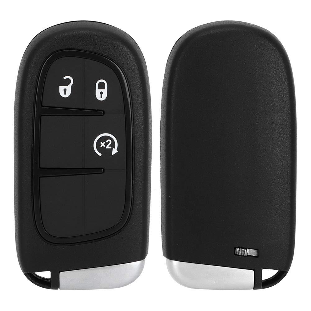 Duokon 4 ButtonCar Key Fob,Remote Car Key 433Mhz 46 Chip GQ4-54T Fit for Ram 1500 2500 3500