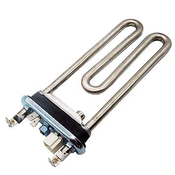 Spares2go 1800 W Calentador de agua elemento + NTC Sensor Termistor para Haier lavadora