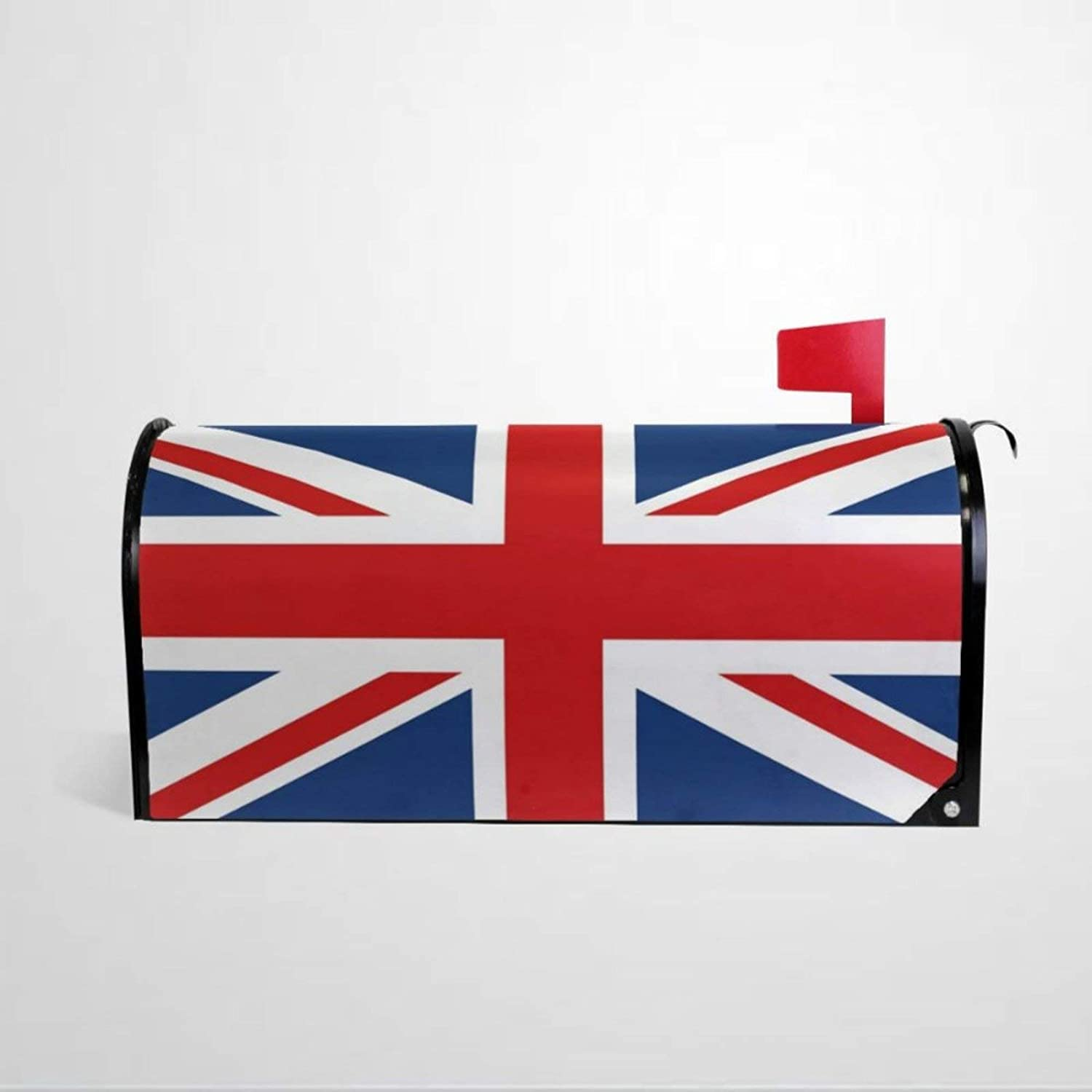 BYRON HOYLE UK British Flag Mailbox Covers Magnetic Mailbox Wraps Post Letter Box Cover Home Garden Yard Outdoor Decor
