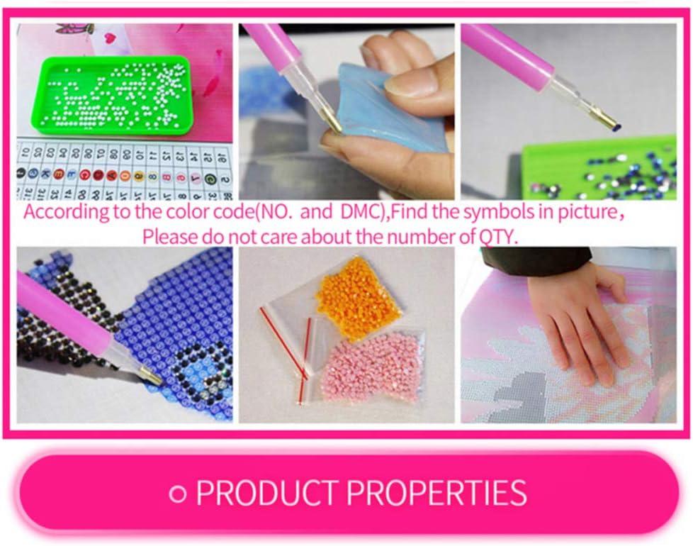 LVSFC 5D Diamond Painting Kits for Adults Kids Flower Field Full Drill Diamond Paintingfor Home Wall Decor