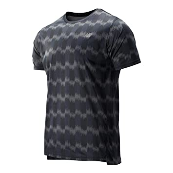 New Balance Printed Accelerate SS tee Camiseta, Hombre: Amazon.es ...