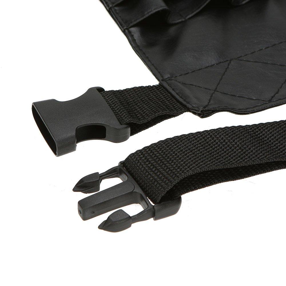 Amazon.com: Anself PVC Professional Cosmetic Makeup Brush Apron Bag Artist Belt Strap Holder (Black): Beauty