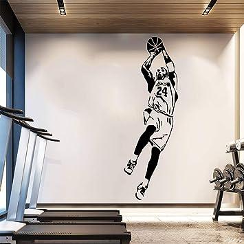 HNXDP NBA Kobe Bryant Wallpaper Jugador de baloncesto Pegatinas de ...