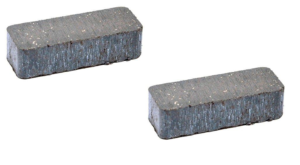 Set of 2, Brake Pucks For Part number 120951X, 532120951 Craftsman, Husqvarna, Poulan.