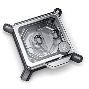 EKWB EK-Velocity CPU Waterblock, Intel CPU, Nickel/Plexi