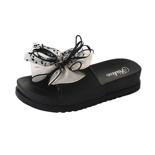 f1ee8aabc101d Inkach Women Platform Sandals - Fashion Ladies Summer Sandals Bath Slippers  Casual Beach Wedge Shoes (