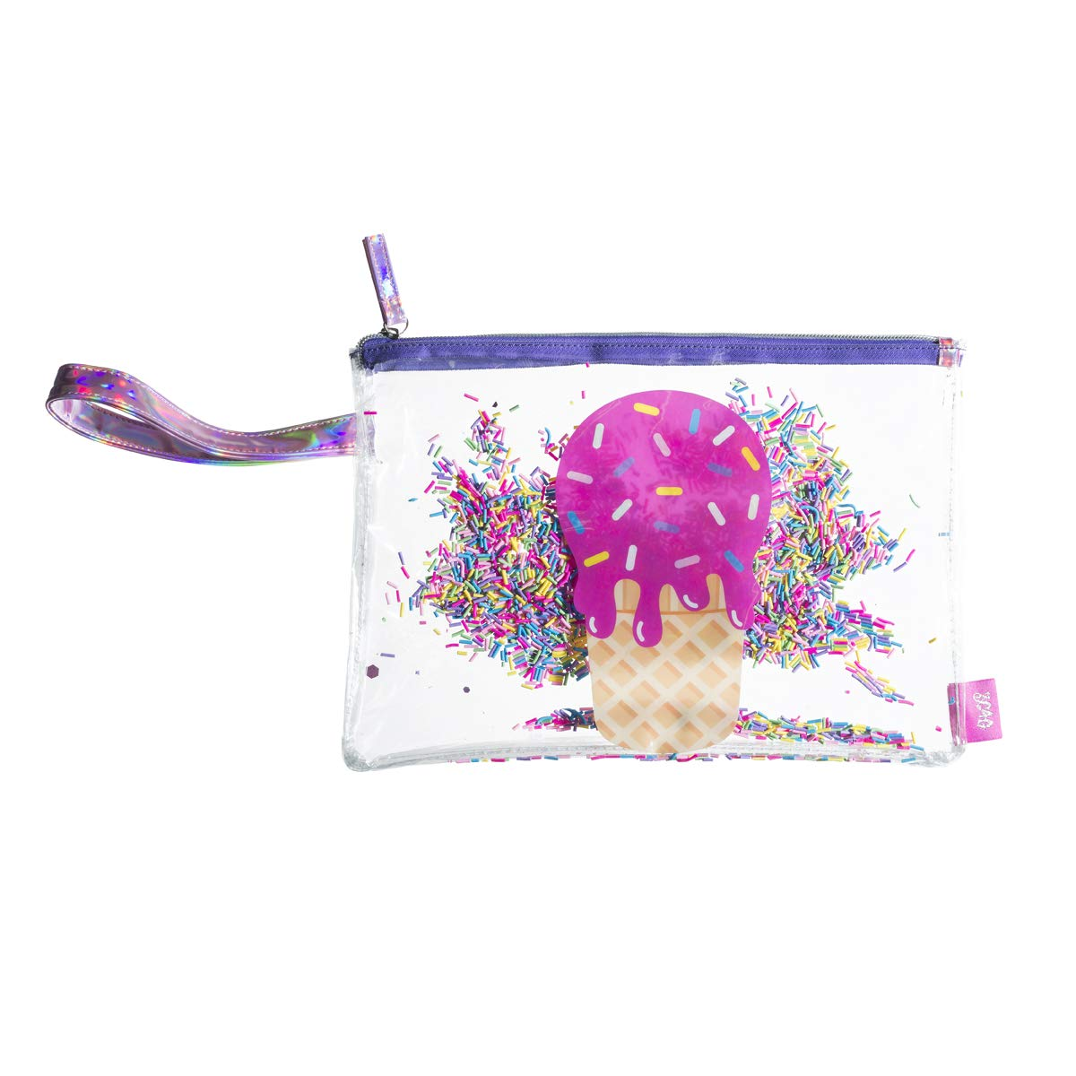 91c7dc9a3d41 Amazon.com: Zippered Bikini Bag Tote – Waterproof Double Layered PVC ...