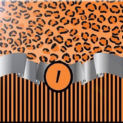 Rikki Knight 12 x 12 Letter K Yellow Damask Stripes Monogrammed Design Ceramic Art Tile
