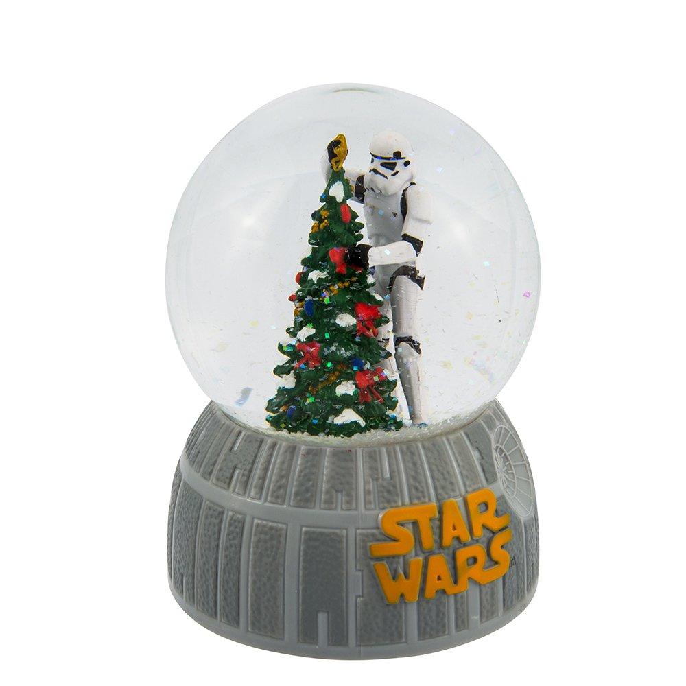 Kurt Adler 100mm Musical Stormtrooper Decorating Christmas Tree Waterglobe (SW8162)