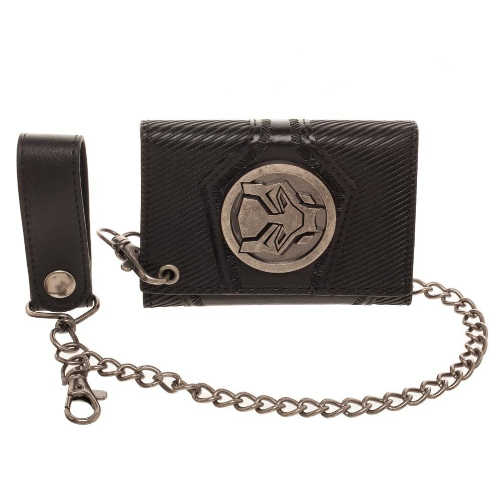 Marvel Men's Black Panther Chain Wallet, Black BioWorld MW5W4LBPM