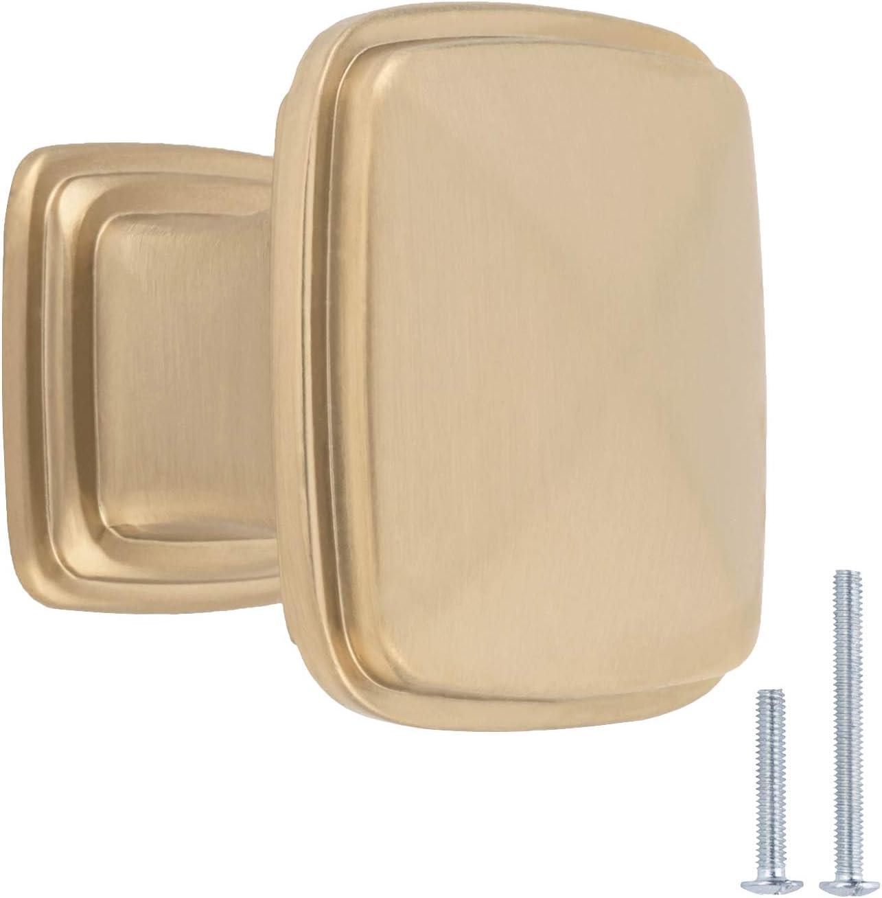 Pomo de armario 3,17 cm de di/ámetro AB400-AB-25 Basics lat/ón envejecido