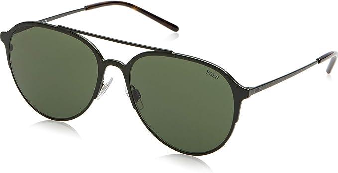 Polo 0PH3115 Gafas de sol, Aviador, 58, Matte Olive Green: Amazon ...