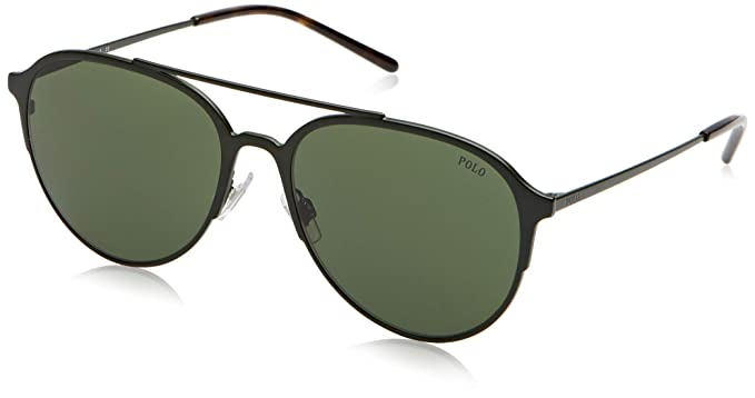 Polo 0PH3115 Gafas de sol, Aviador, 58, Matte Olive Green ...
