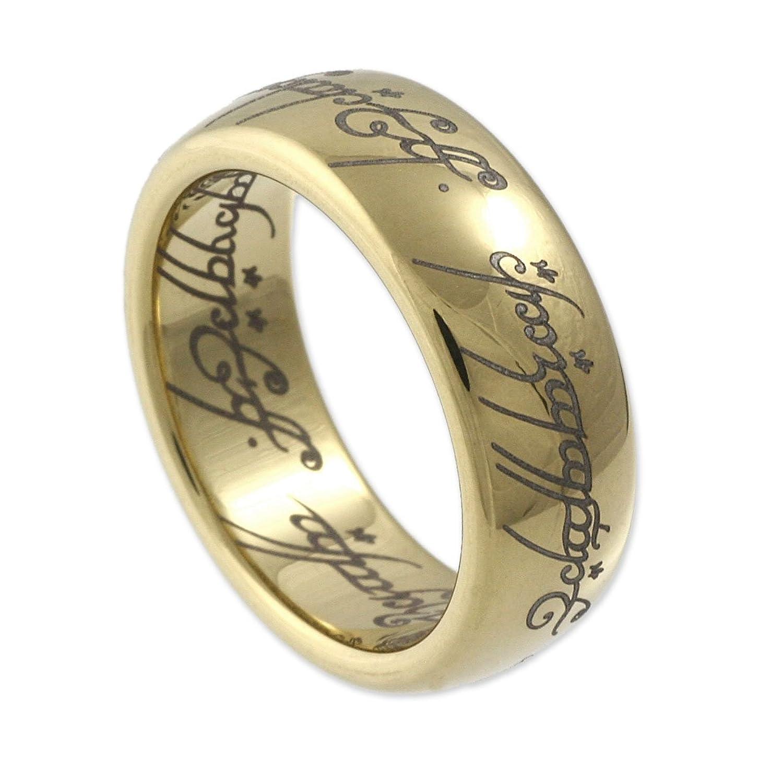 """Herr der Ringe Uni Ring """"Saurons Ring"""" aus dem kleinen Hobbit"""