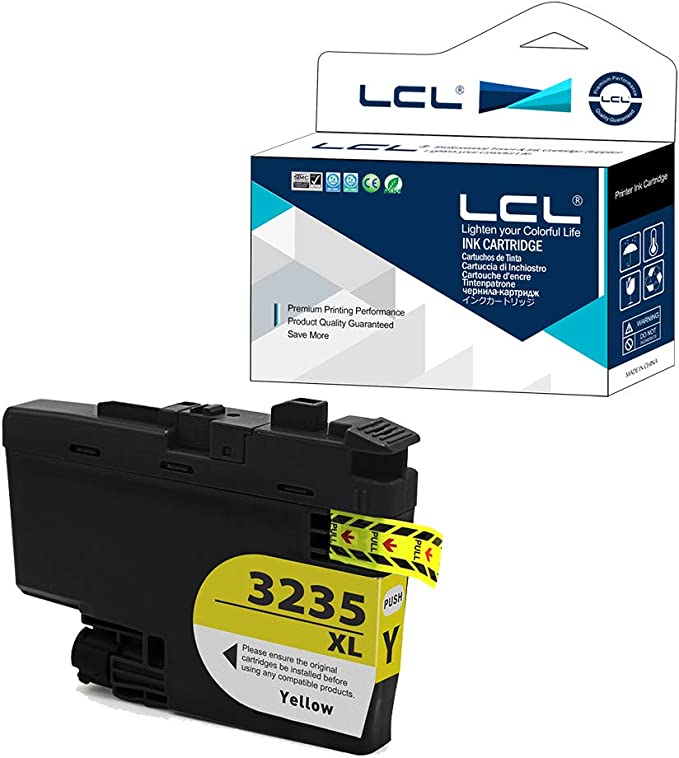 Lcl Kompatibel Tintenpatrone Lc 3235 Lc3235 Xl Lc3235xl Lc 3235xly Lc3235xly 1stück Gelb Ersatz Für Brother Dpc J1100dw Mfc J1300dw Bürobedarf Schreibwaren