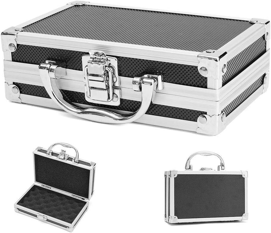 RoJuicy Tool Storage Box Aluminum Cases Portable Multi-purpose Storage Case With Handle