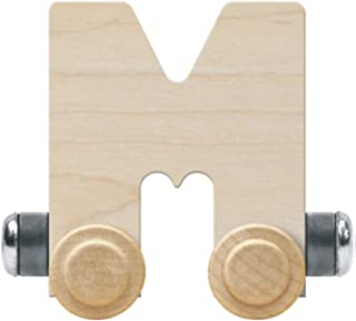 product image for NameTrain Unfinished Letter Car M - Made in USA