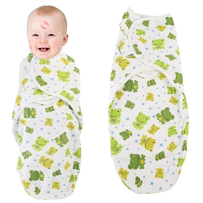 puseky Bebé recién nacido envoltura envoltura Suave y cálido saco de dormir Manta envoltura de sueño