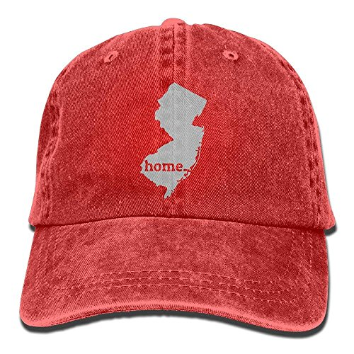 - New Jersey is My Home Mens&Womens Vintage Style Fashion Sun Cap Baseball Cap