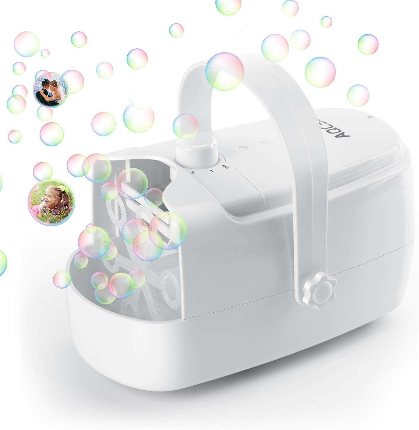 Automatic Bubble Maker for Kids