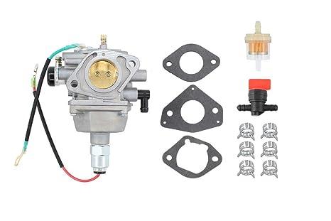 Carburetor Fuel Filter Valve Carb for Kohler Courage Courage SV710 SV725  SV730 SV735 SV740 SV830 Engine Motor Craftsman Lawn Tractor Mower Toro  59008