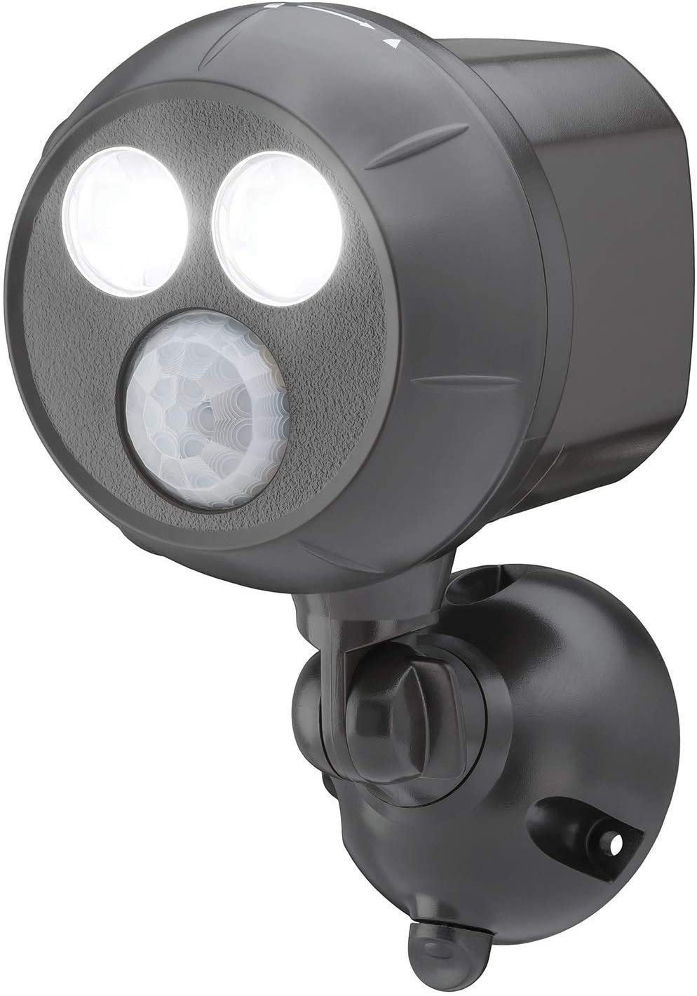 Mr Beams MB390 Weatherproof LED Spotlight Motion Sensing Battery Power 3 Pack