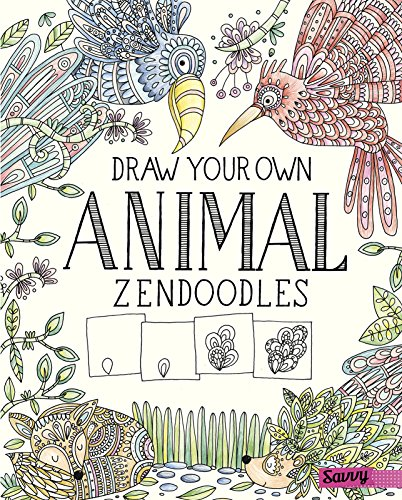 Book Cover: Draw Your Own Animal Zendoodles