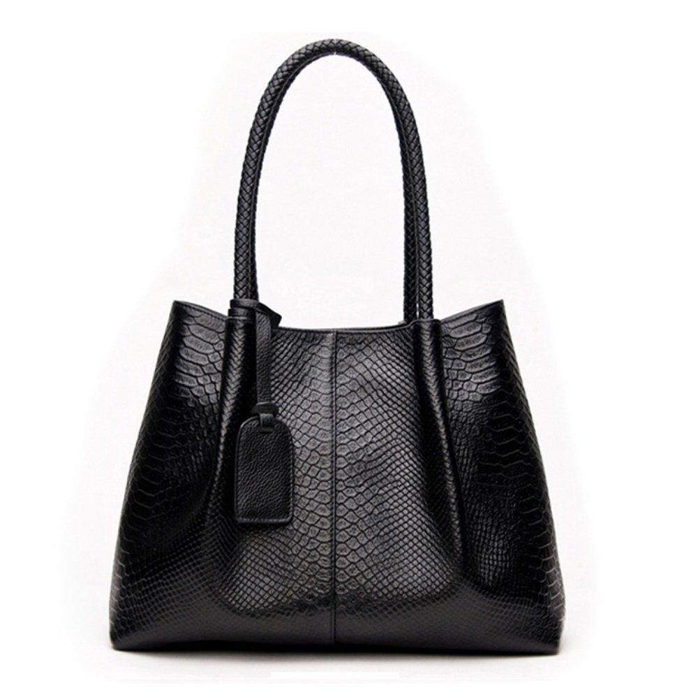 SHISHANG Damen-Einkaufstasche Neue Leder Mode Damen Serpentine Schulter Messenger Bag ZYXCC