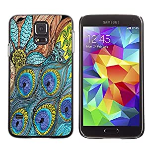 Dragon Case - FOR Samsung Galaxy S5 - Pain past is pleasure - Caja protectora de pl??stico duro de la cubierta Dise?¡Ào Slim Fit