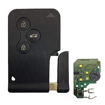KunmniZ® - Chip de 3 Botones 433 MHz 7947 con Llave remota ...
