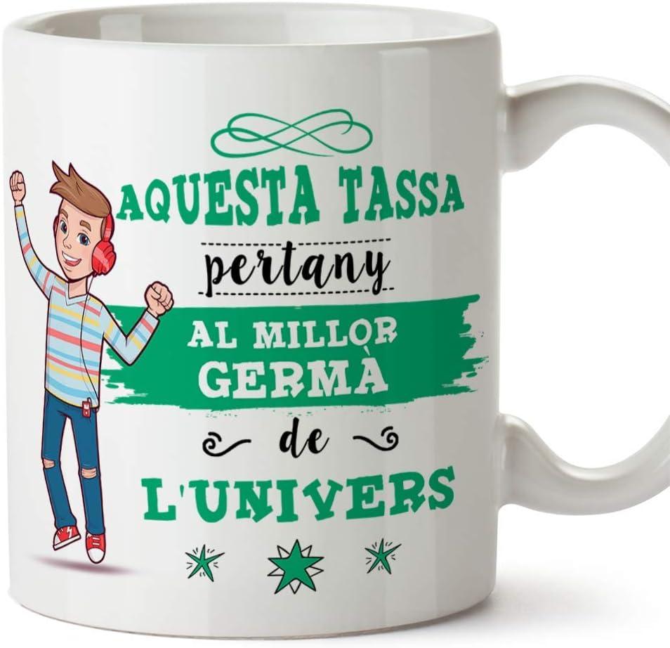 MUGFFINS Taza Hermano (En Catalán) -